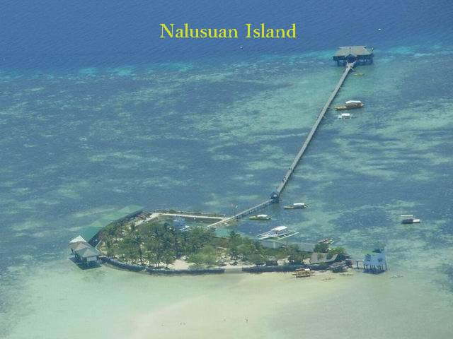 Aerial Picture Nalusuan Is.